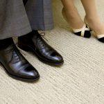 革靴とパンプス